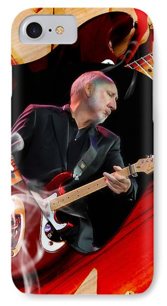 Pete Townshend  Art IPhone Case by Marvin Blaine