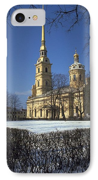 Peter And Paul Cathedral IPhone Case by Travel Pics