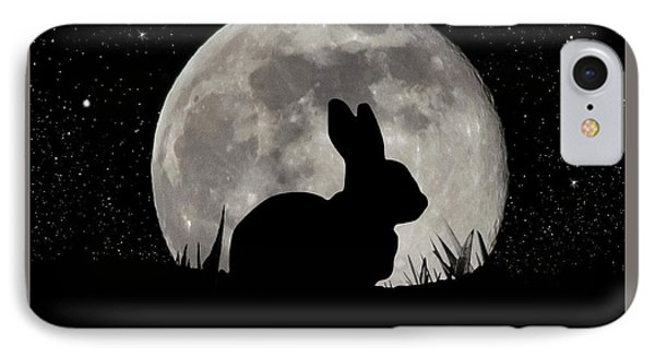 Peter Cottontail IPhone Case by Brian Wallace