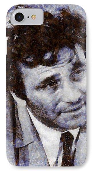 Peter Falk Columbo IPhone Case