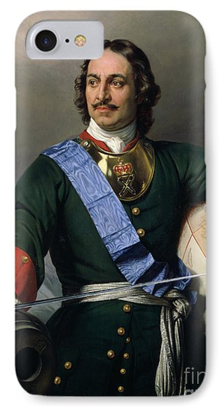 Peter I The Great IPhone Case