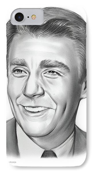 Peter Lawford IPhone Case by Greg Joens