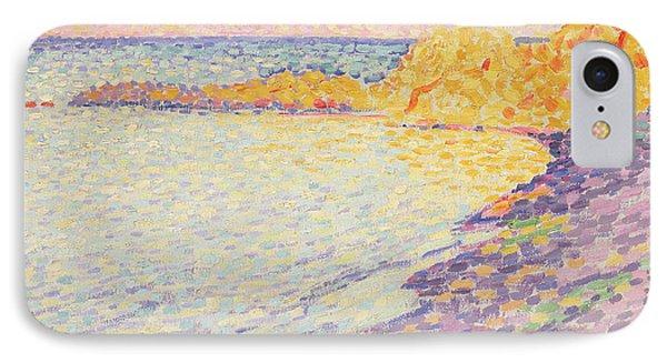 Petit Plage, Saint Tropez IPhone Case by Theo van Rysselberghe