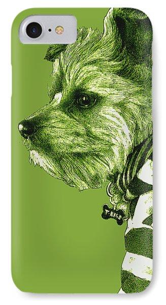 Petite Bear Green IPhone Case
