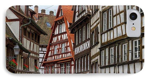 Petite France Houses, Strasbourg IPhone Case