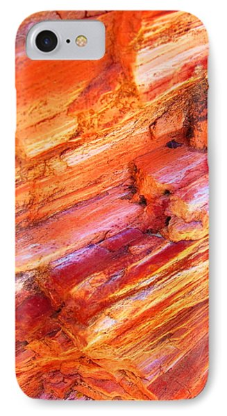 Petrified Abstraction No 1 IPhone Case by Andreas Thust