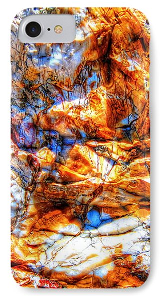 IPhone Case featuring the photograph Petrified Abstraction No 3 by Andreas Thust