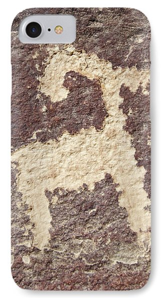 IPhone Case featuring the photograph Petroglyph - Fremont Indian by Breck Bartholomew
