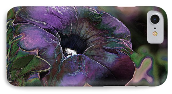 Petunia 1 IPhone Case by Stuart Turnbull
