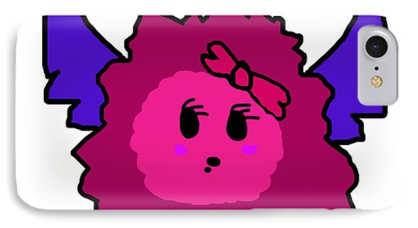 Petunia Blueberry IPhone Case