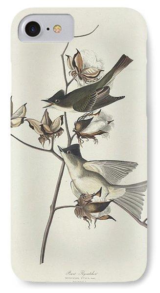 Flycatcher iPhone 7 Case - Pewit Flycatcher by Dreyer Wildlife Print Collections