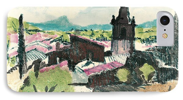 Peyruis Village In Provence IPhone Case by Martin Stankewitz