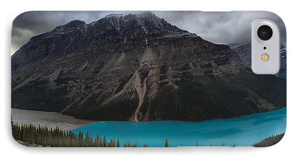Peyto Lake Creamy Blues IPhone Case by Adam Jewell