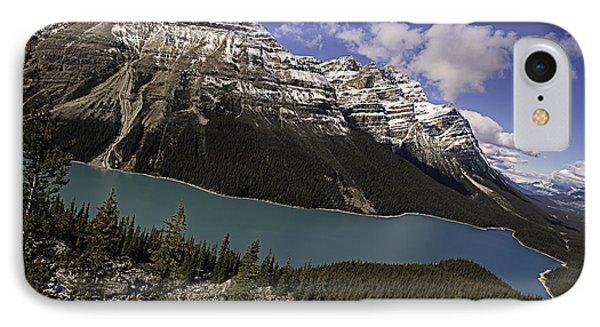 Peyto Lake IPhone Case by John Gilbert