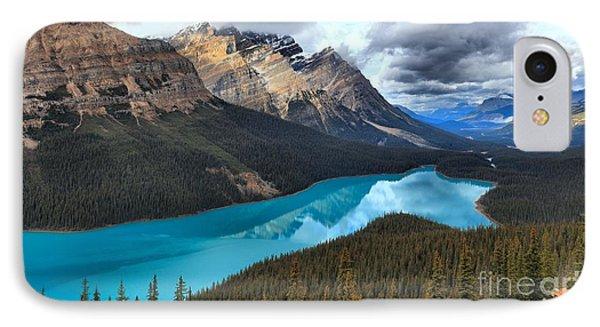 Peyto Lake Reflections IPhone Case