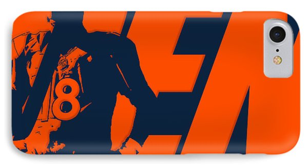 Peyton Manning City Name IPhone Case by Joe Hamilton