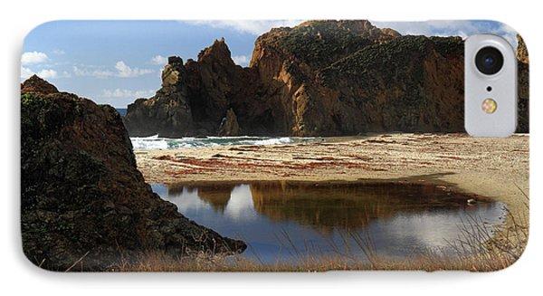 Pfeiffer Beach Landscape In Big Sur Phone Case by Pierre Leclerc Photography