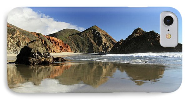 Pfeiffer Beach Reflection Phone Case by Pierre Leclerc Photography