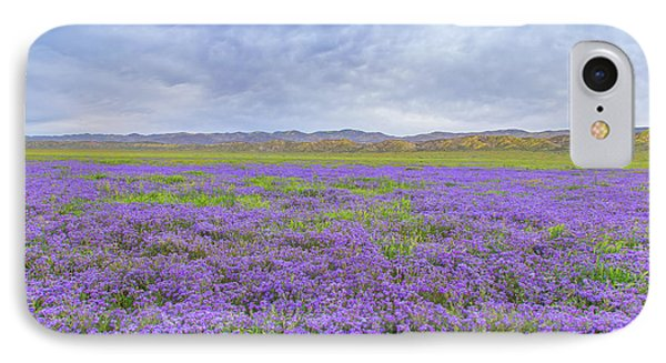 IPhone Case featuring the photograph Phacelia Field by Marc Crumpler