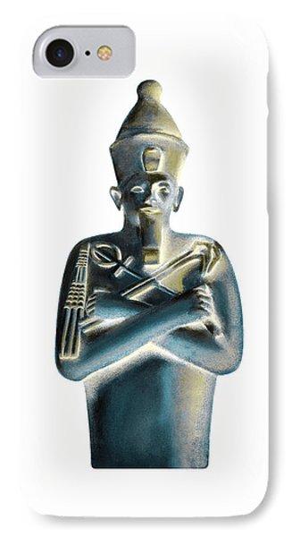 IPhone Case featuring the digital art Pharaoh by Elizabeth Lock