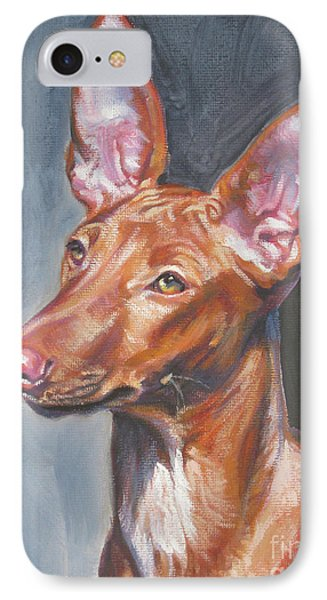 Pharaoh Hound Phone Case by Lee Ann Shepard