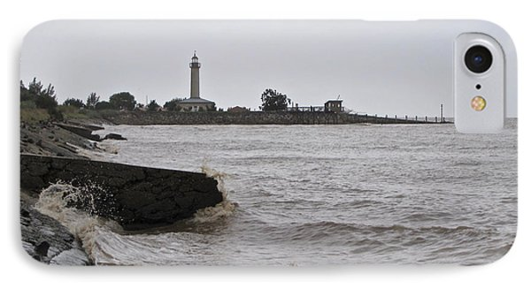 IPhone Case featuring the photograph phare de Richard by Marc Philippe Joly