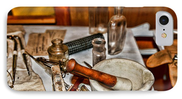 Pharmacist - Mortar And Pestle Phone Case by Paul Ward