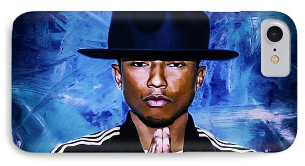 Pharrell Williams Happy II IPhone Case by Brian Reaves