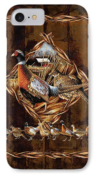 Pheasant iPhone 7 Case - Pheasant Lodge by JQ Licensing