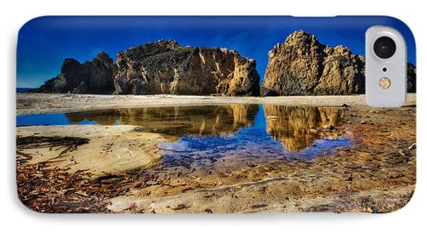 Pheiffer Beach #15 - Big Sur, Ca IPhone Case by Jennifer Rondinelli Reilly - Fine Art Photography