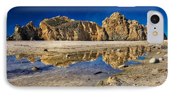 Pheiffer Beach #3 - Big Sur California IPhone Case by Jennifer Rondinelli Reilly - Fine Art Photography