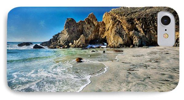 Pheiffer Beach #5 - Big Sur California IPhone Case by Jennifer Rondinelli Reilly - Fine Art Photography