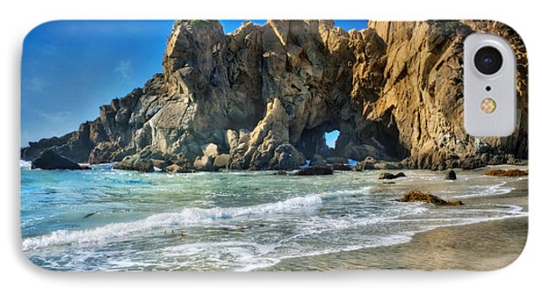 Pheiffer Beach #6 - Big Sur California IPhone Case by Jennifer Rondinelli Reilly - Fine Art Photography