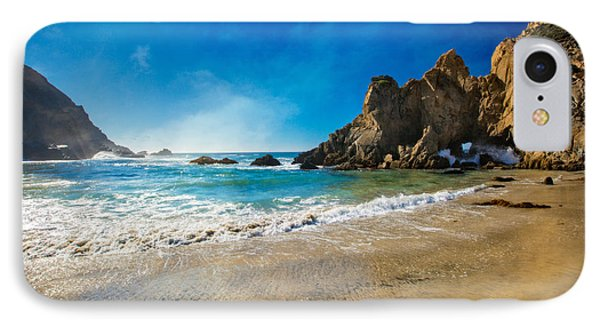 Pheiffer Beach #7 - Big Sur California IPhone Case by Jennifer Rondinelli Reilly - Fine Art Photography