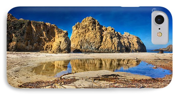 Pheiffer Beach - Keyhole Rock #16 - Big Sur, Ca IPhone Case by Jennifer Rondinelli Reilly - Fine Art Photography