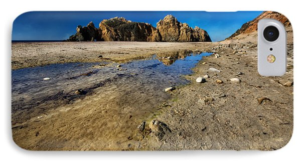 IPhone Case featuring the photograph Pheiffer Beach -keyhole Rock #18 - Big Sur, Ca by Jennifer Rondinelli Reilly - Fine Art Photography