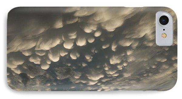 Phenomenal Sky - Fascinating Mammatus Clouds IPhone Case