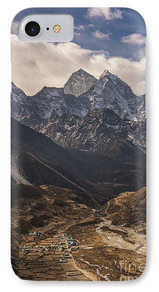 IPhone Case featuring the photograph Pheriche In The Valley by Mike Reid
