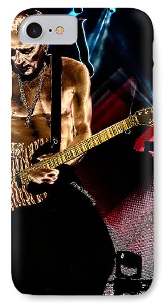 Phil Collen Of Def Leppard 3 IPhone 7 Case