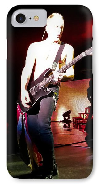 Phil Collen Of Def Leppard 6 IPhone 7 Case