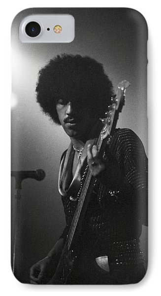 Phil Lynott Phone Case by Sue Arber