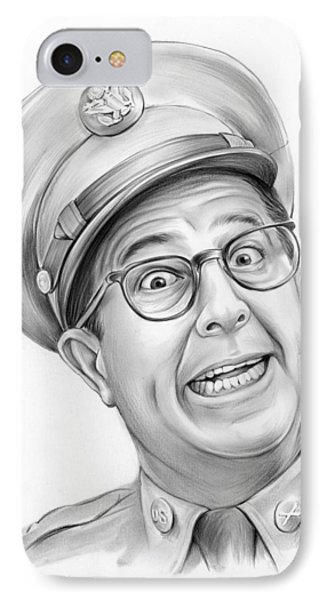 Phil Silvers IPhone Case by Greg Joens