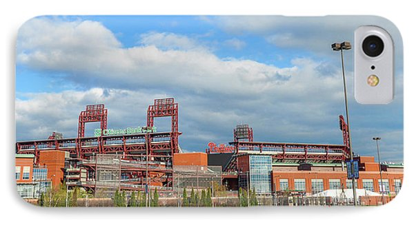 Philadelphia Baseball - Citizens Bank Park IPhone Case by Bill Cannon