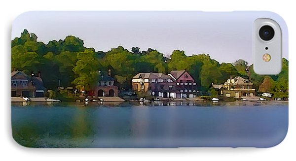 Philadelphia Boat House Row Phone Case by Bill Cannon