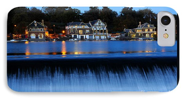 Philadelphia Boathouse Row At Twilight IPhone Case