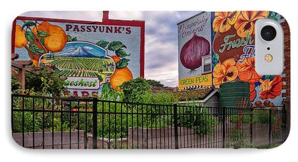 Philadelphia Community Gardens IPhone Case