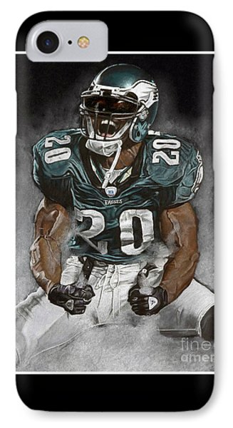 Philadelphia Eagles Brian Dawkins The Legend IPhone 7 Case
