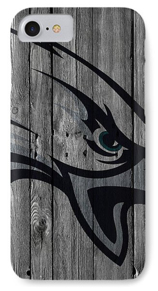 Philadelphia Eagles Wood Fence IPhone Case