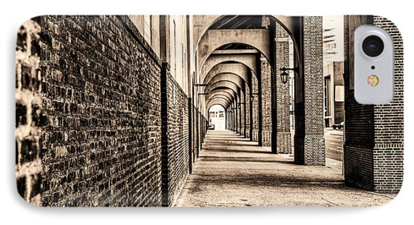 Philadelphia - Franklin Field Archway In Sepia IPhone Case