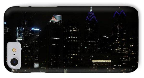 Philadelphia Night Lights IPhone Case